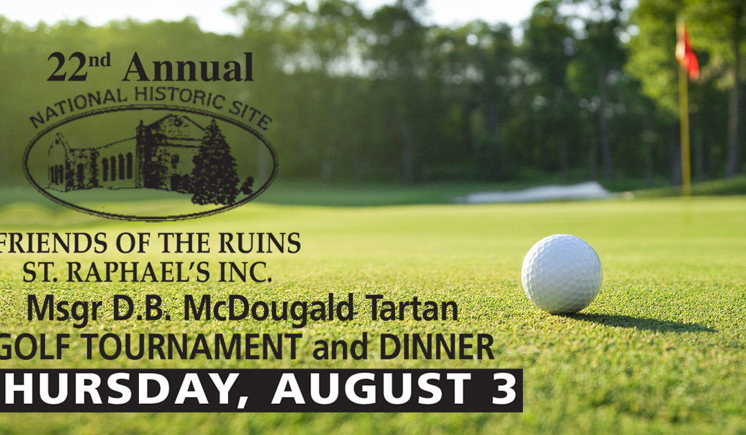 22nd Annual Tartan Golf Tournament