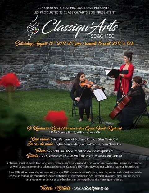 Classiqu'Arts SD&G 150 Concert